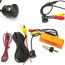 18.5mm Car Rearview Backup Reverse Parking HD Camera With Drill Bit Waterproof