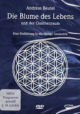 DIE BLUME DES LEBENS UND DER QUANTENRAUM - Andreas Beutel DVD - NEU OVP