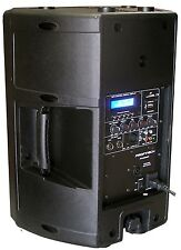 "New 1x 10"" 240W Professional PA/DJ Powered Moulded Speaker With USB/SD Player"