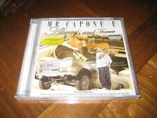 Chicano Rap CD Mr. Capone-E - Always & Forever - Mr Criminal Nate Dogg Lil Cuete