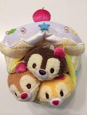 Disney tsum tsum japan cupcake set chip dale clarice in US