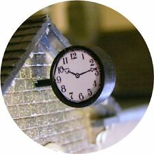 O GAUGE STATION CLOCK VERSATILE TWO FACED FOR HORNBY MODEL RAILWAY LAYOUT