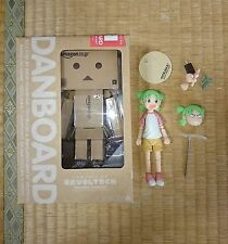 "Yotsuba&i 4.5-5"" Figure 2pcs Revoltech Authentic Kaiyodo Japan k#17430"