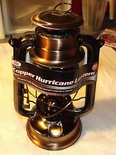 "New 12""  Copper Hurricane Lantern Hanging Emergency Camping Kerosene Oil Lamp"