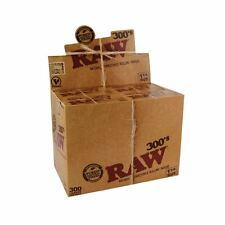 Raw Rolling Paper Classic 1 1/4 300 Leaves Full Box of 40