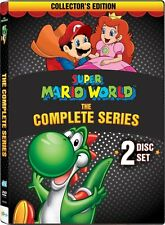 Super Mario World Complete Series DVD Set Animated Collection TV Show Lot Season