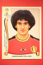 Panini BRASIL 2014 N. 576 FELLAINI BELGIE WITH BLACK BACK TOPMINT!!