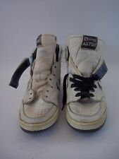 Rare Vintage 1985 Converse All-Star Shoes Size 9 White w/Blue 678507 18786