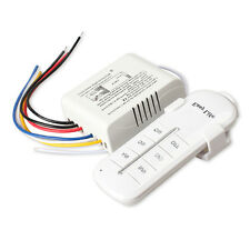 3 Channels Light Digital Wireless Remote Control Switch Lightswitch Power Switch