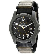 Men's Timex T42571 Expedition Classic Analog Camper Watch Nylon Strap, Grey