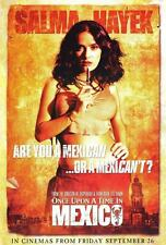 Salma Hayek Once Upon A Time In Mexico Movie Poster