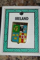 Irish PROVINCES PIN LAPEL Coat of Arms - Crest - Clip Badge Brooch - Ireland