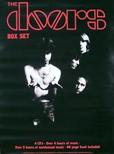 THE DOORS 1997 BOX SET CLASSIC PHOTO PROMO POSTER ORIGINAL