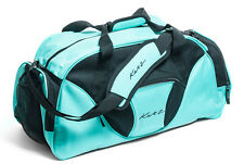 Girls Ladies Large Turquoise Dance Ballet Tap Kit Holdall Sports Bag KB74 Katz