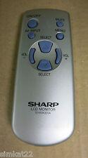 Sharp G1459CESA LCD Monitor Remote Control