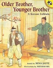 Older Brother, Younger Brother: A Korean Folktale (Picture Puffins)-ExLibrary