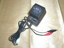 6VOLT OR 12VOLT BATTERY CHARGER 500MA FOR 6V 12V BATTERIES W LED STATUS LIGHTS