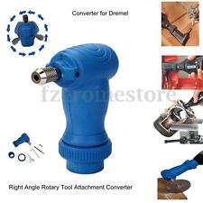 New Right Angle Drill Attachment Converter Adaptor For Dremel Rotary Chuck Tool