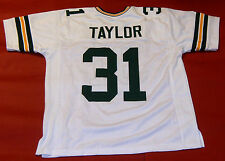 JIM TAYLOR CUSTOM GREEN BAY PACKERS W JERSEY