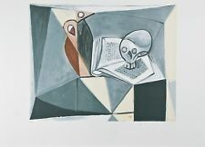 """Tete de Mort et Livre"" from Marina Picasso Estate Ltd Edition of 500 Lithograph"