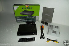 Insignia Digital Converter Box to Analog TV w/Remote Control A/V Cable NS-DXA1