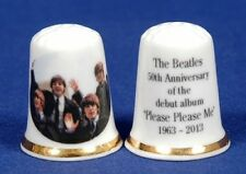 The Beatles 50th Anniversary of Debut Album Please Please Me China Thimble B/107