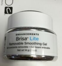 CND Creative Nail BRISA LITE Removable SMOOTHING Gel CLEAR .5oz/14g Overlay Gel