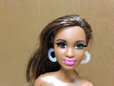 2015 Barbie Doll Style Glam Luxe Grace AA Flat To Heel Root Eyelash Articulated