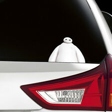 Big Hero 6 Baymax Peeking Funny Joke Novelty Car Bumper Window Sticker Decal New