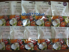 10 dozen  Fowlers Vacola  Preserving Rings BRAND NEW