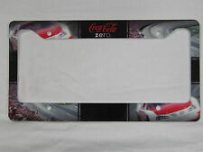 "Coca-Cola Zero ""Racing"" License Plate Frame - NEW"