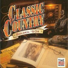 Classic Country: Golden 50's (CD, 1998, 2 Disc Set) Disc, Only Free Ship