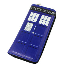 1 PC Doctor Who Tardis Dr Wallet Long Wallet Bag Purse Wallet Cute Pu Blue 2015