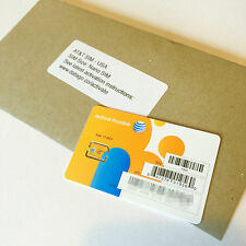 AT&T USA prepaid Nano SIM card - ATT US 4G/LTE, Aust Seller Fast Free Shipping