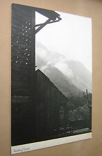 "LARGE ORIGINAL PHOTOGRAPH ""BREAKING CLOUDS"" c1960s B&W ON BOARD. 15"" x 11"""