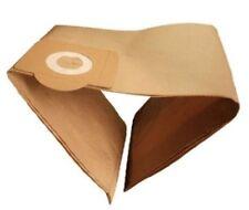 10 X Bush Bagnato 'N' Asciugare Aspirapolvere Hoover Polvere Sacchetti di carta