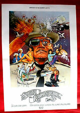 SMOKEY AND THE BANDIT PART III 1983 JACKIE GLEASON JERRY REED  EXYU MOVIE POSTER