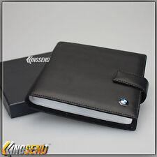 new BMW PU Leather CD Case Car DVD Holder Men Disc Album Disk Storage Organizer