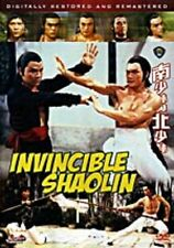 Invincible Shaolin - NEW DVD--FREE UPGRADE TO 1ST CLASS SHIPPING