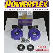 Powerflex Delantero Puntal Superior Mounts - 10mm + Rodamientos Gratis Para Seat Leon Cupra R 99-05