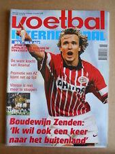 VOETBAL INTERNATIONAL 29-04-1998 Boudewijn Zenden PSV   [P65]