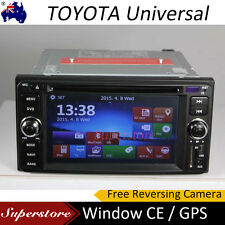 TOYOTA GPS CAR DVD Player Stereo HIACE RAV4 Landcruiser PRADO Camry MR2 HILUX