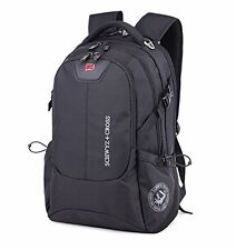 Swiss men travel backpack student school bag Wenger computer laptop rucksack