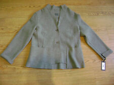 Oska jacket.Sz 3 or 14.Grey,lagenlook,quirky.100% boiled wool.RRP £215.New+tags