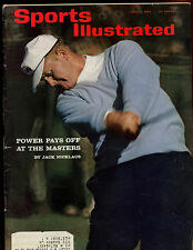 April 6 1964 Sports Illustrated Magazine Jack Nicklaus Front Cover EX+