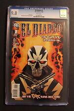 EL DIABLO #1 First Chato Santana 2008 Hernandez SUICIDE SQUAD MOVIE CGC NMMT 9.8