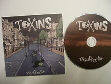 TOXINS Disaffector  – 2013 UK CD EP – Card Sleeve – Hardcore, Punk – RARE!