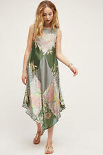 NEW ANTHROPOLOGIE Trouvaille Maxi Dress SP Small Petite by Tiny