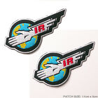 THUNDERBIRDS Classic ACTURATE Crew Patch / Logo Patch TWIN SET, Gerry Anderson.