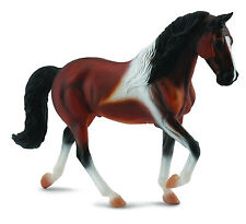 Tennessee Walking Horse Stallion Bay Pinto # 88450  FREE SHIP/USA $25.+ Collecta
